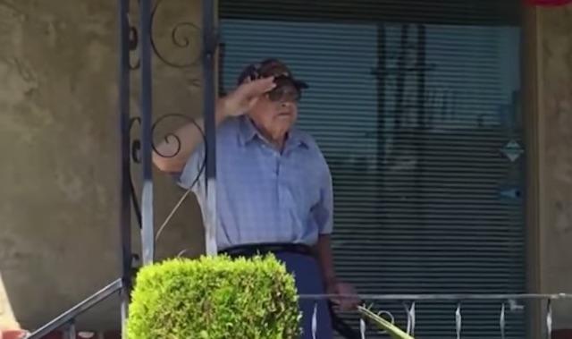 Saluting Veteran-Youtube
