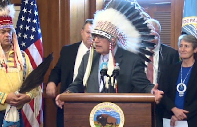 Oil Company Surrenders 15 Land Leases on Sacred Native