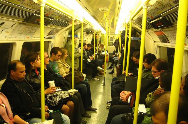 Subway Passengers Come Together to Prepare Anxious Man For ...