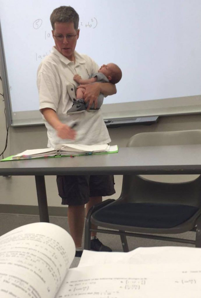 Image result for taking a newborn to college