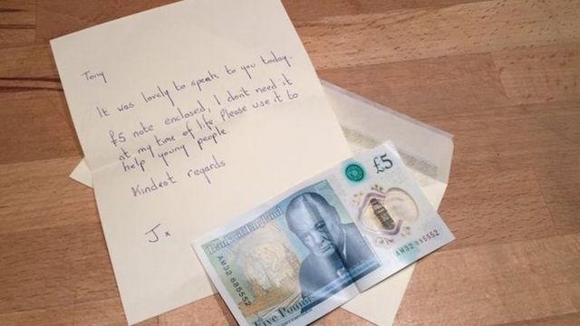 £5 Note-Tony Huggins Haig Gallery
