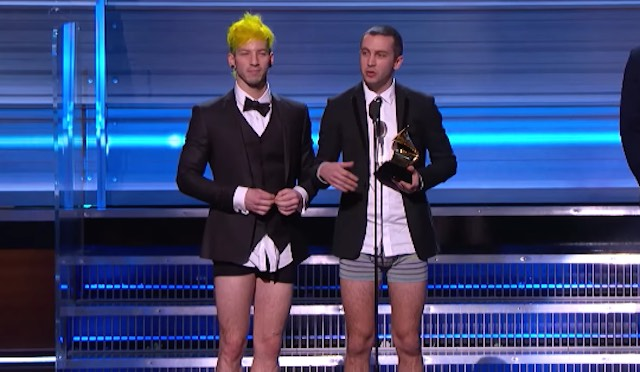21 Pilots Grammy-Youtube