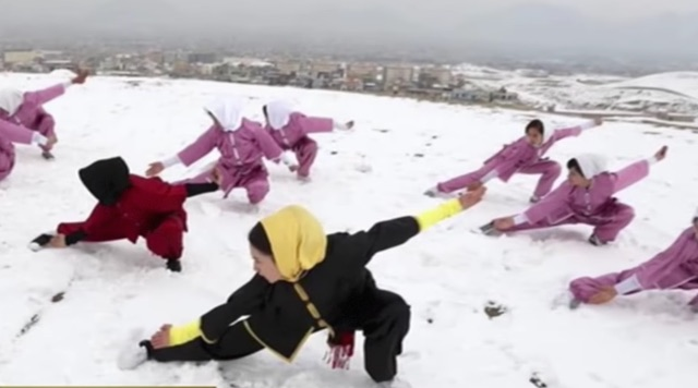 Afghan Wu Shu Girls-Youtube