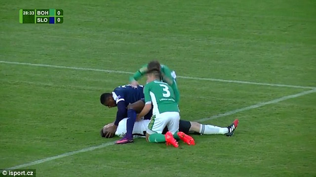 Francis Kone Saves Player-Youtube