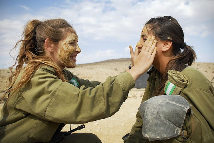 Happy Military Women-CC Israel Defense Forces