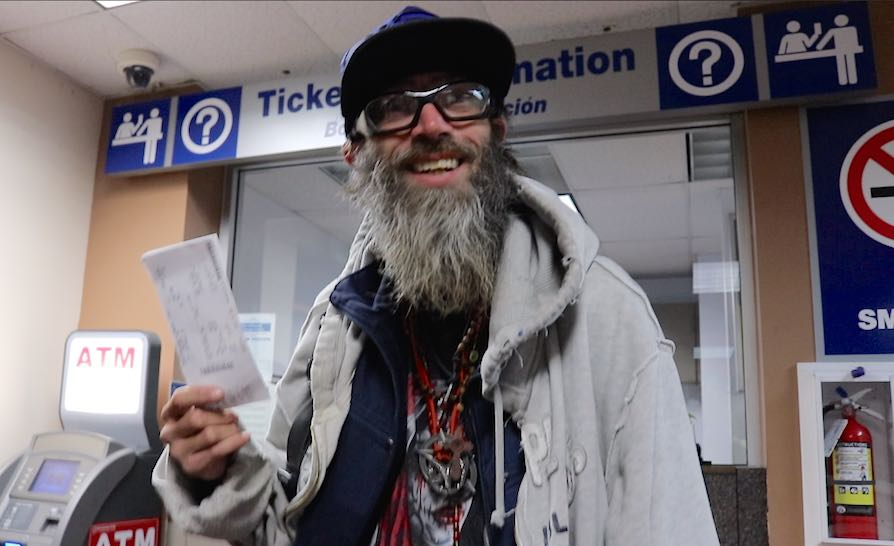 Homeless Jason Stevens w bus pass-submitted