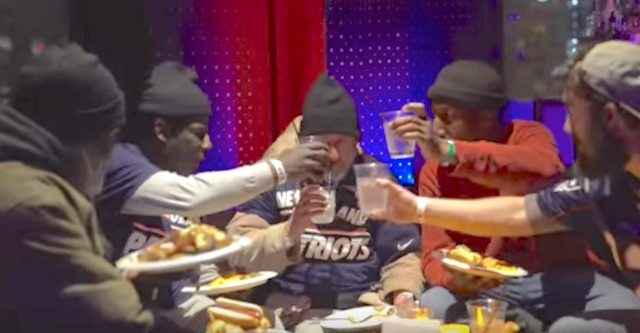 Man Throws Super Bowl Party For The Homeless Watch