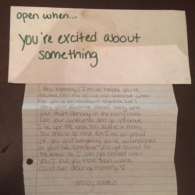 Macy Mathis's Letter-Facebook
