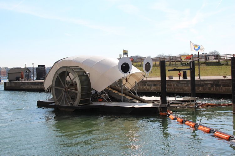 Professor Trash Wheel-Baltimore Water Front