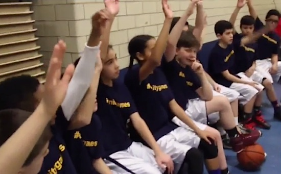 School Basketball Team-WABC