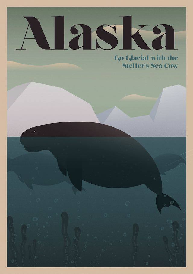 Sea Cow Poster-Unknown Tourism