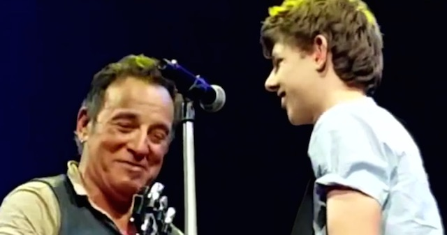 Springsteen and Student-Youtube