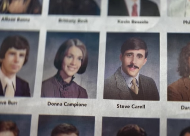 Steve Carell Yearbook-YOutube