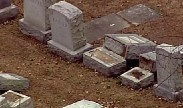 Vandalized Headstones-Youtube