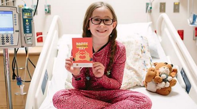 Young Patient with Valentine-Facebook
