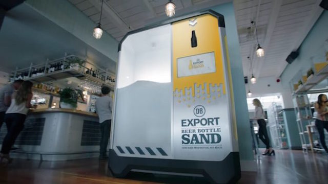 Beer Bottle Sand-DB Breweries