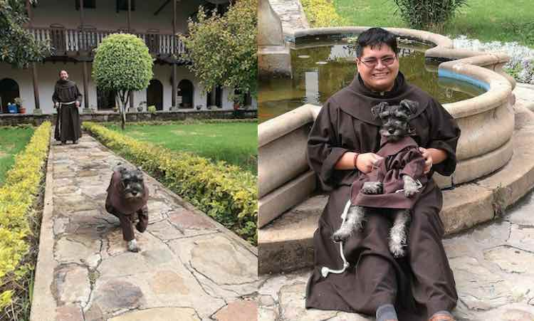 Carmelo the Friar Dog-Facebook