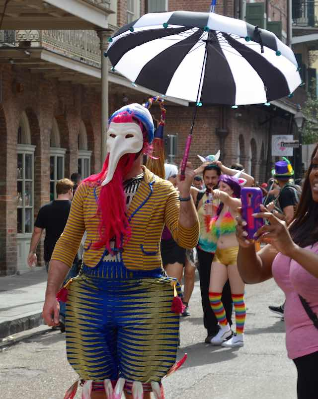 Masked Mardi Gras Reveler-McKinley Corbley