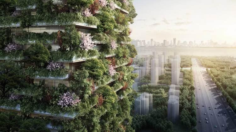 Nanjing Vertical Forest-Stefano Boeri