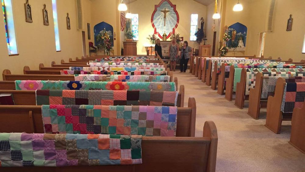 Quilts in Church -Christina Tollman-released