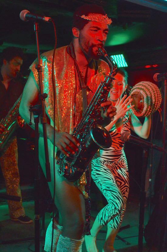 Saxophonist-McKinley Corbley
