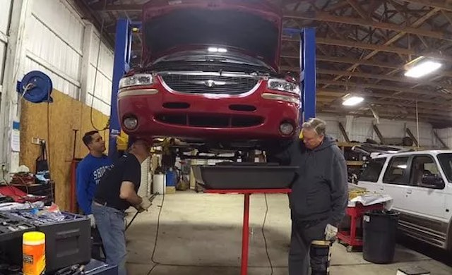 this mechanic will fix anyone s car for free good news network