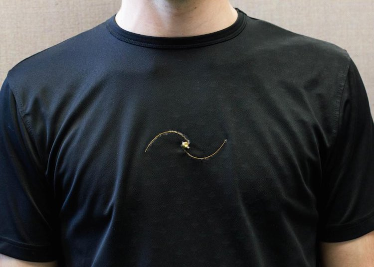 This T-Shirt Monitors the Asthma Patient's Breathing Without