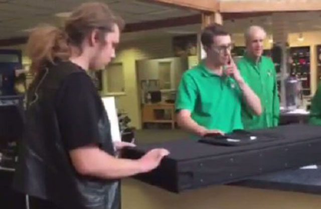Father Surprises Son With Birthday Gift From Beyond The Grave