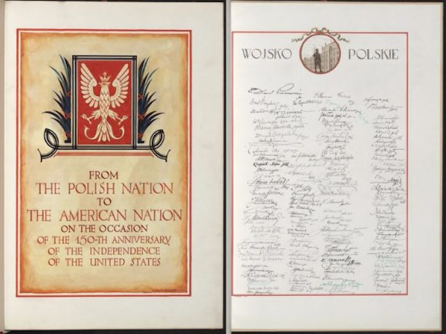 Poland Once Gave America A Birthday Card With 55 Million Signatures