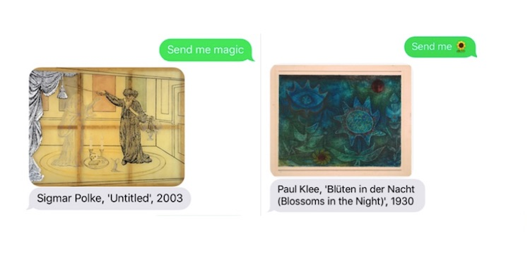 Text Me Any Masterpiece' – Send Museum a Topic and You'll