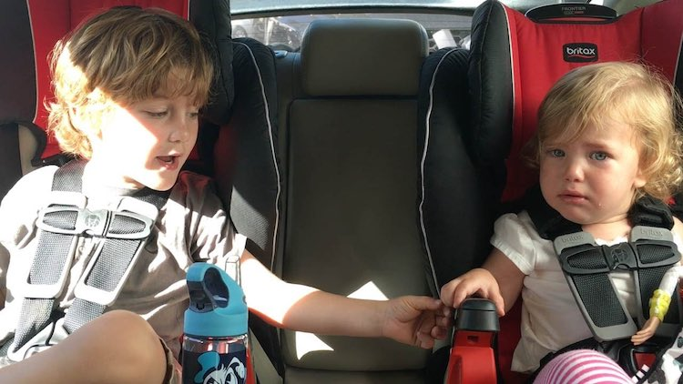 Watch Cute 4-Year-old Reassure His Frightened Sister At