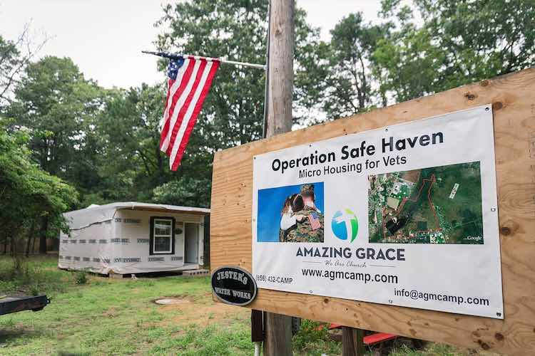 Veteran With PTSD is Creating Free Tiny House Community for