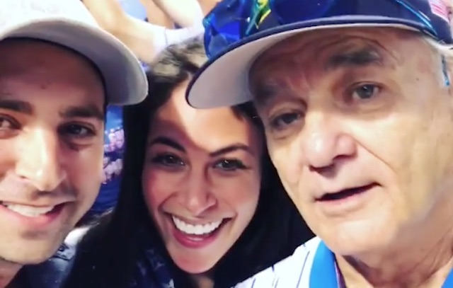In Personal Shoutout, Bill Murray is Happy to Share Couple's