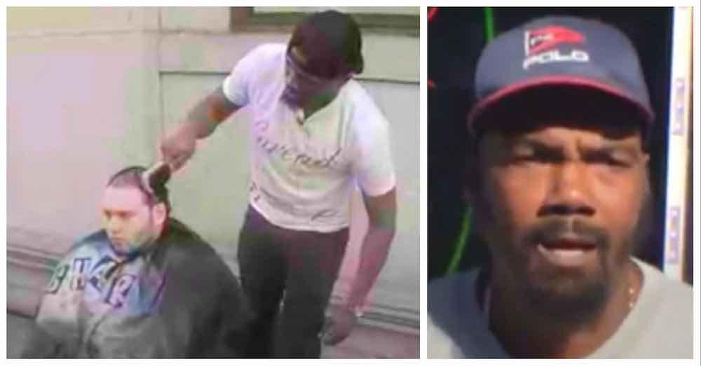 Man Gives Free Haircuts To Homeless On Street Corner So Stranger