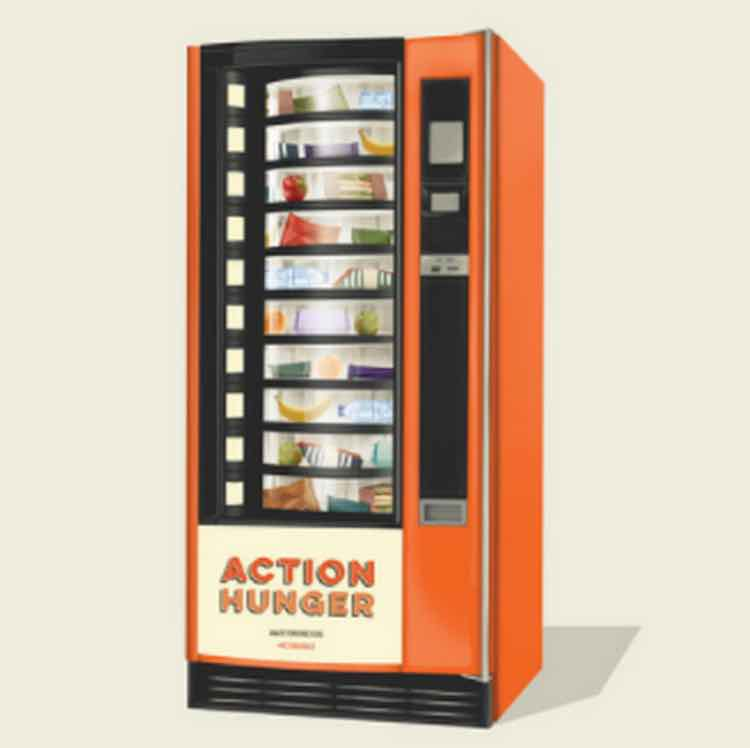 First Vending Machine For The Homeless