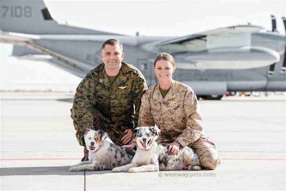 Military Couple Helps Care For Pets of Deployed Soldiers
