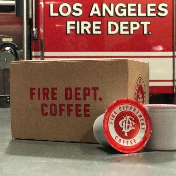 Fresh Roasted Fire Dept. Coffee - Good News Network