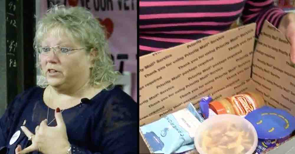 Military Sons Tell Mom Not Every Soldier Gets Care Packages Like Them So She Sends 10,000 Boxes