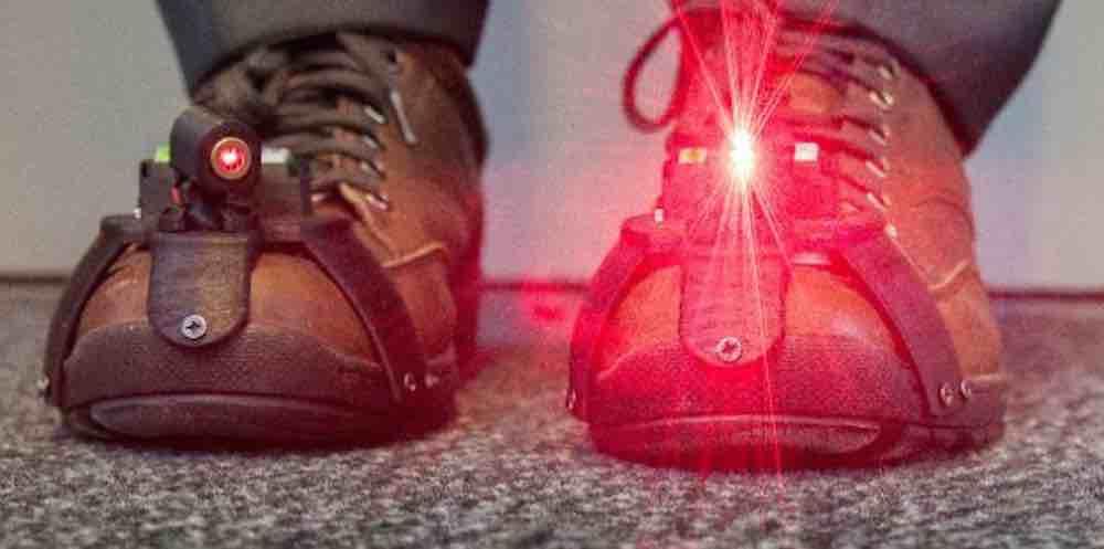 Laser Shoes For Parkinson S