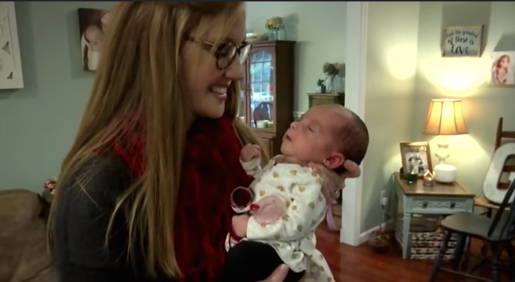 Woman Gives Birth To Baby From 24-Year-Old Frozen Embryo