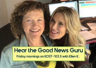 Geri the Good News Guru with Ellen K
