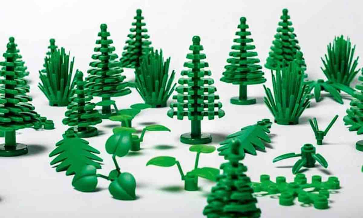 First sustainable Lego pieces to be sold this year
