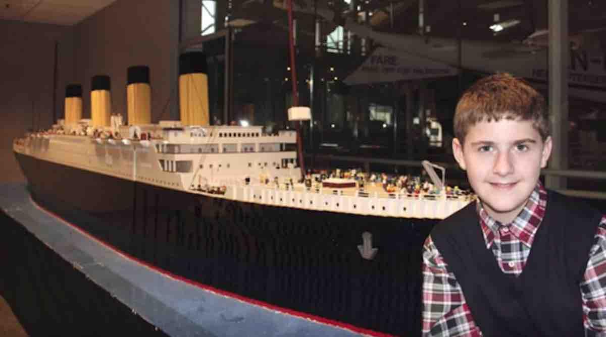 Boy With Autism's LEGO Replica of the Titanic is So Impressive ...