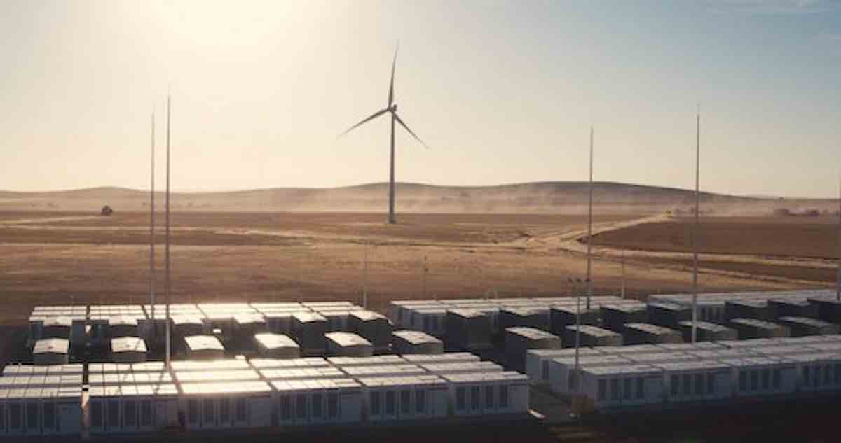Tesla's Record-Breaking Mega Battery, Installed on a Bet