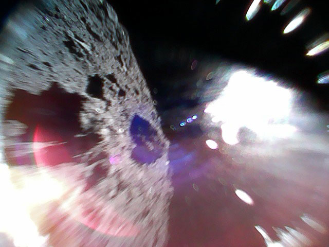 They Made It! Japan's Two Hopping Rovers Successfully Land on Asteroid Ryugu