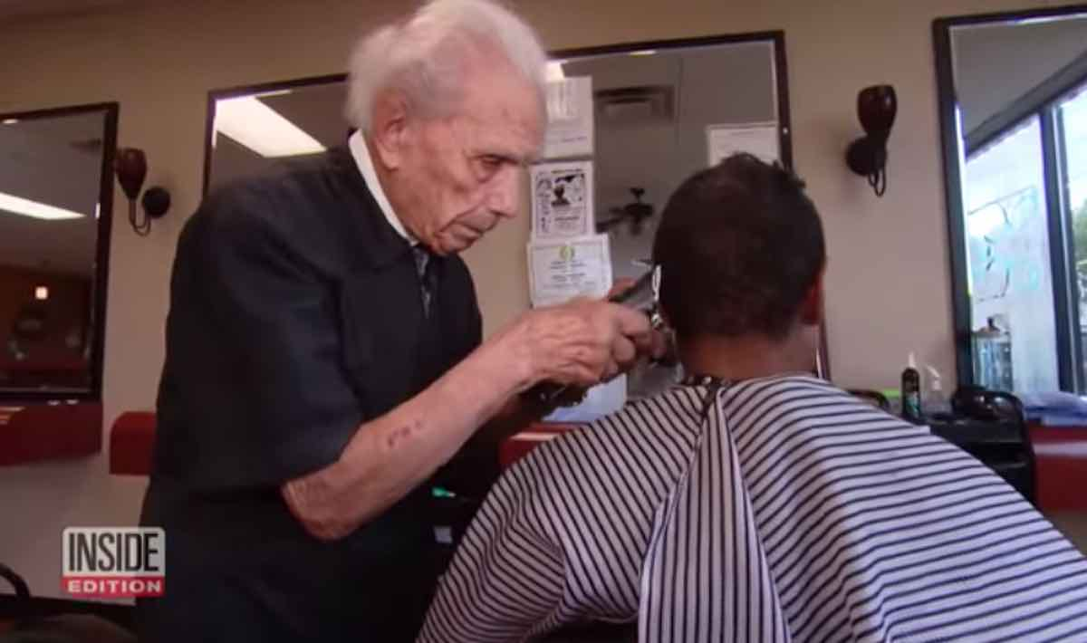 Worlds Oldest Barber Still Masterfully Cutting Hair At 107 Shares
