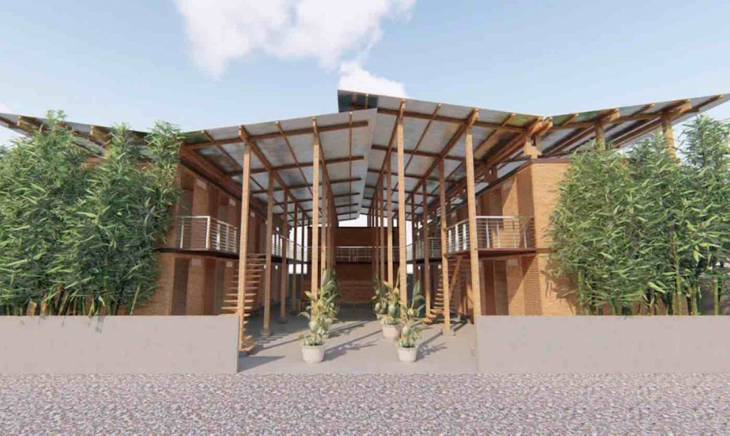 23-Year-old Wins Top Prize for Cheap Bamboo Housing That Can Be Constructed in 4 Hours CUBO-Bamboo-Housing-Released-1024x611