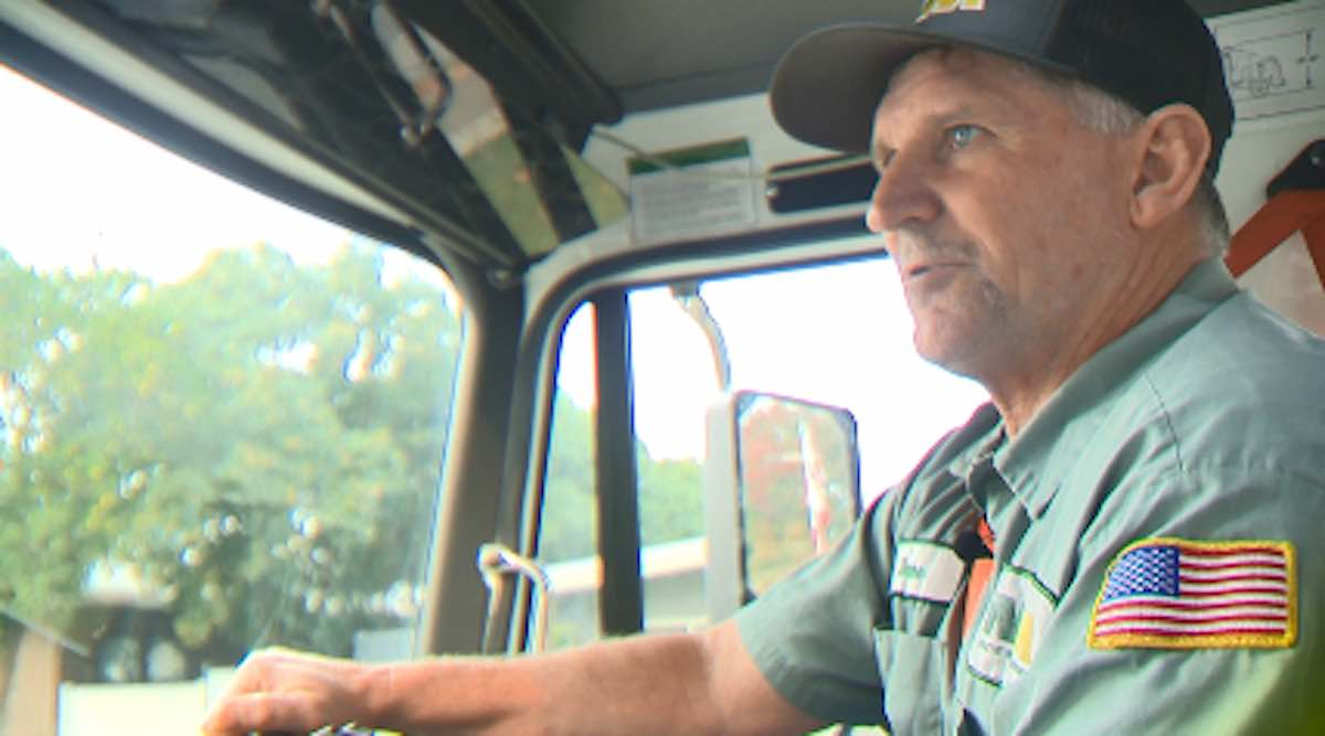 Another Hero–When Garbageman Refuses to Flee Wildfires So He Can Check On Seniors Along His Route (Podcast)