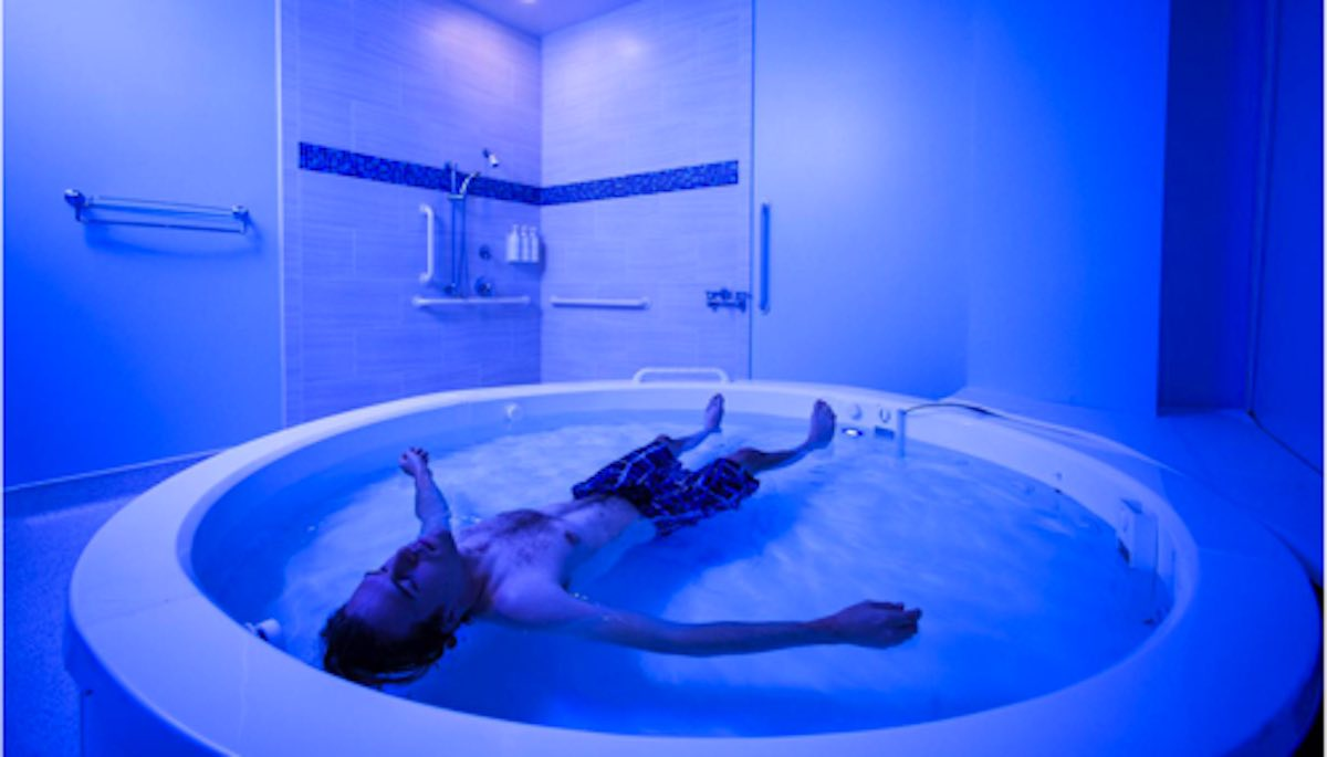Veterans Are Finding Peace From PTSD Through 'Float Therapy'