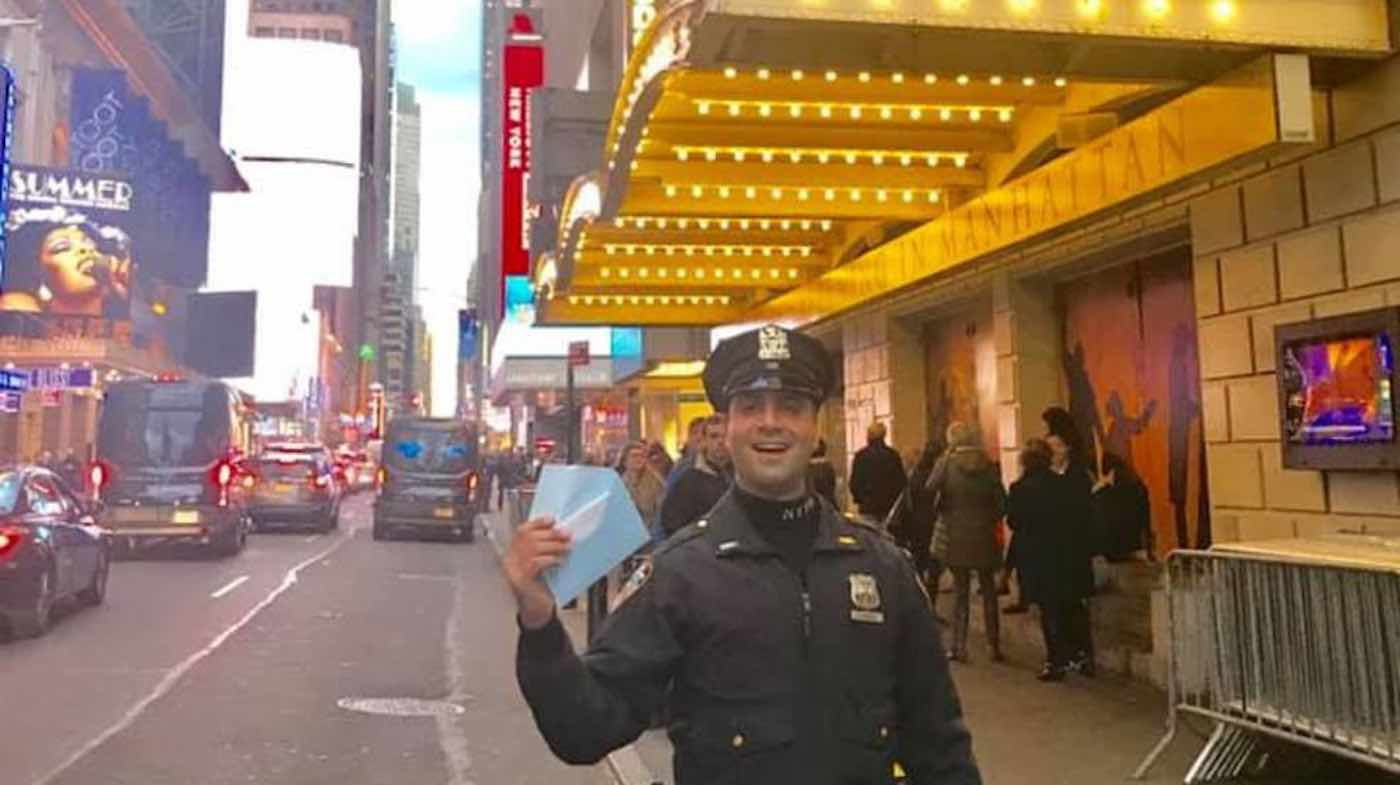 Woman Praises Kind-Hearted Police Officer for Helping Her Get 'Hamilton' Tickets in Her Time of Need